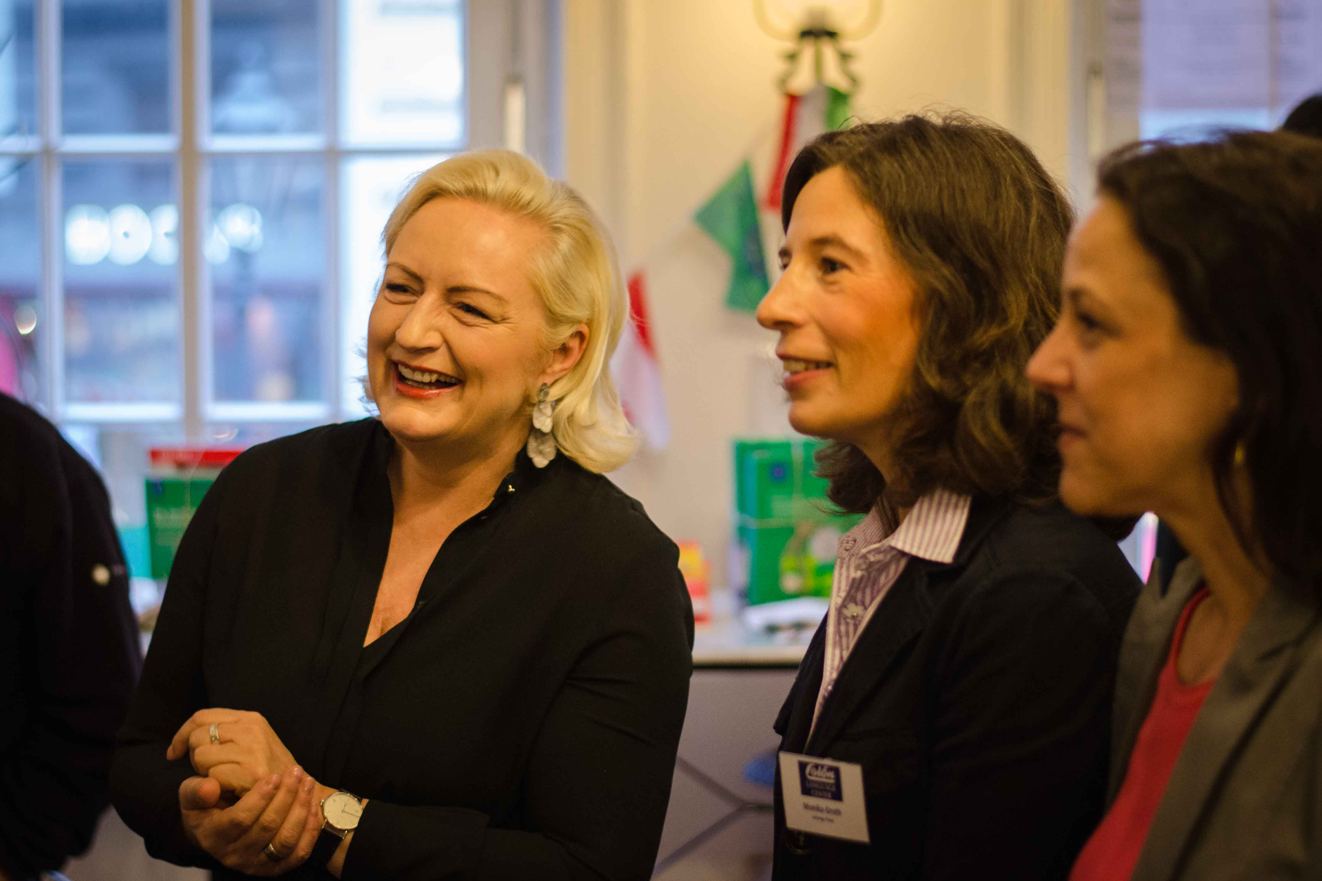 Silke Wöhrmann im Gespräch