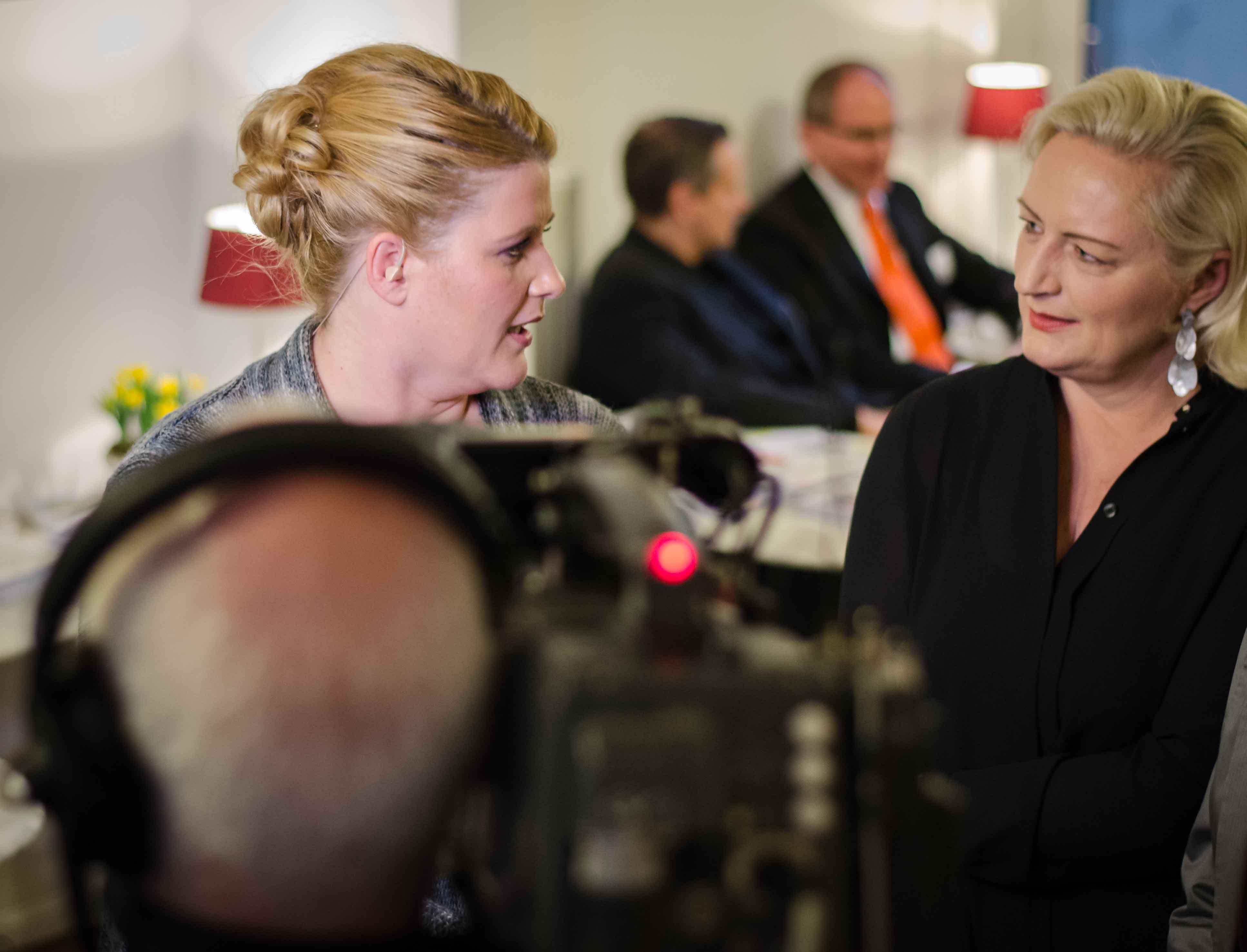 TV Live - Im Gespräch mit Anke Harnack